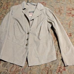 GUC Women's Faded Glory Corduroy 1X Jacket Beige